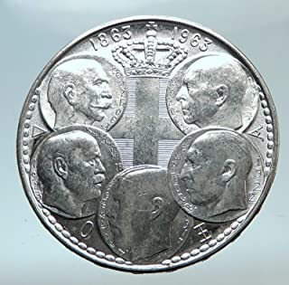 1963 unknown 1963 GREECE w PAUL GEORGE I &II ALEXANDER CONSTAN coin Good Uncertified