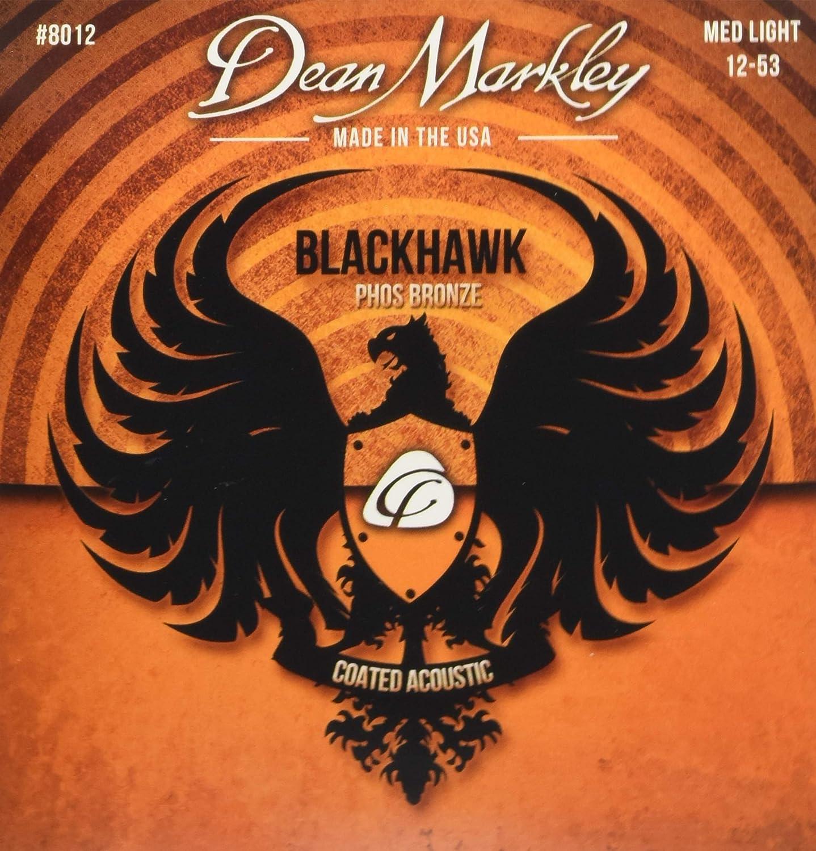 Dean Markley Blackhawk Coated Pure Max 86% OFF DM8012 Financial sales sale A Bronze Strings