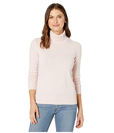 Pendleton Merino/Cashmere Turtleneck (Chintz Rose) Women