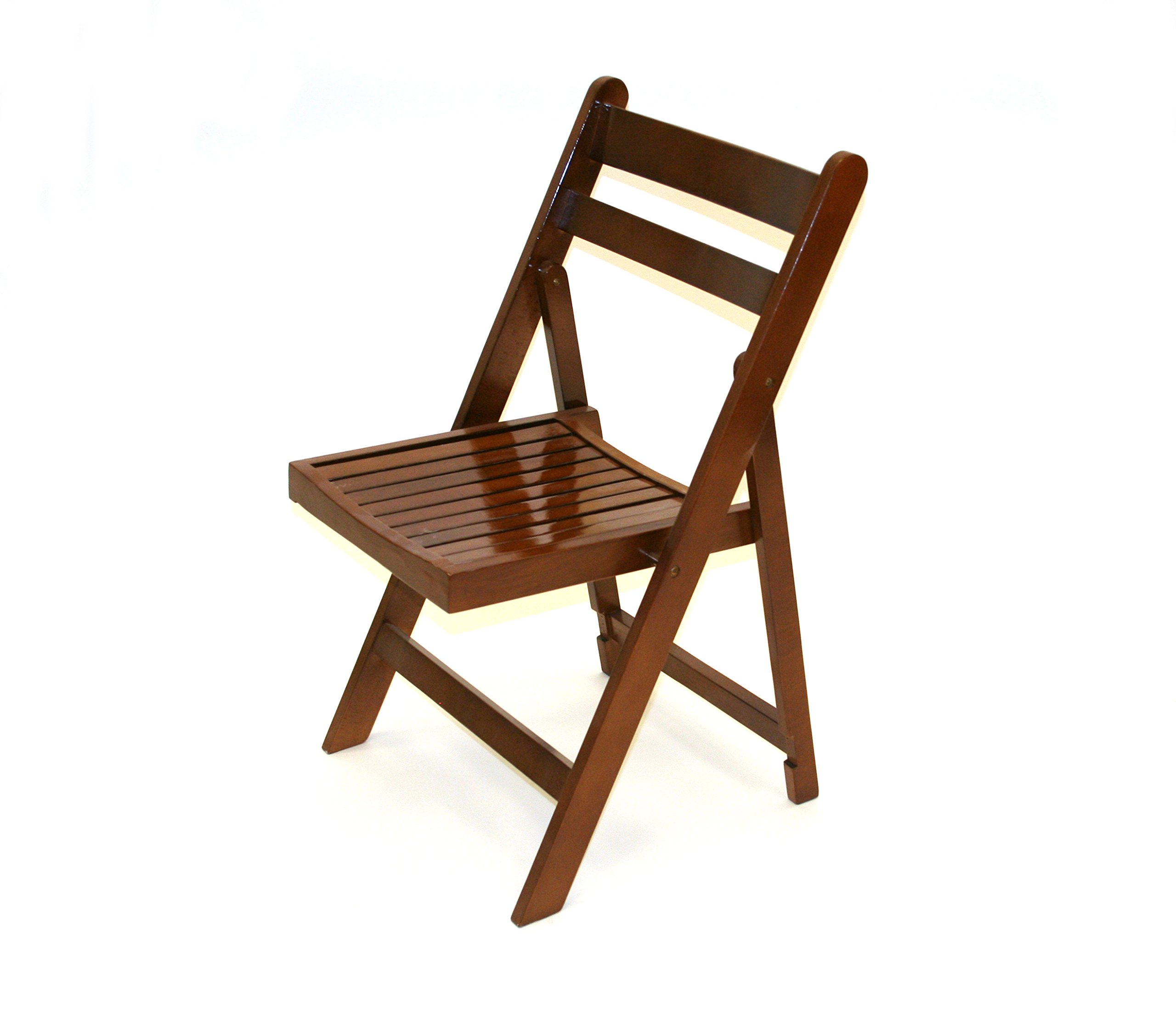 Brown Wooden Folding Chairs, Garden Chairs, Party Furniture