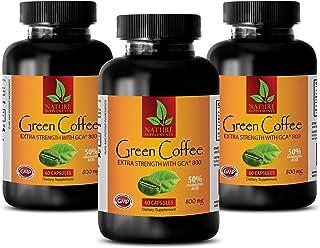 Fat Burner for Men Belly Fat - Green Coffee Bean Extract - Extra Strength GCA 800 MG - Green Coffee Bean Extract Non GMO -...