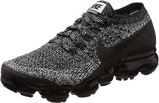 Nike Women Air Vapormax Flyknit Running Black Black-White-Racer Blue Size 8.0 US