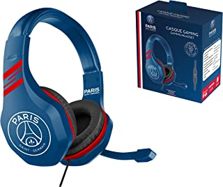 Gaming headset with microphone for Playstation 4 - PS4 Slim - PS4 Pro - Xbox One - PC - Gamer accessory club PSG Paris Sai...