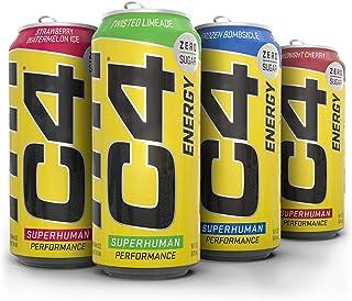 Cellucor C4 Sugar Free Energy Drink, 16 Fl Oz, Pack of 20