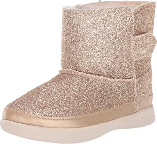 UGG Girls' Keelan Glitter Fashion Boot, Gold, 7 M US Toddler