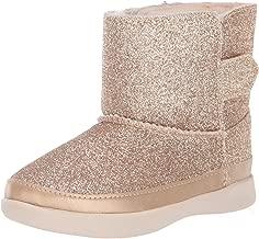 UGG Girls' Keelan Glitter Fashion Boot, Gold, 7 M US Toddler