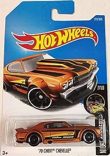 Hot Wheels 2017 Nightburnerz '70 Chevy Chevelle 212/365, Orange