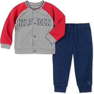 Baby Boys 2 Pieces Cardigan Pant Set