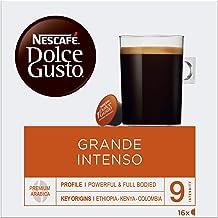 NESCAFÉ Dolce Gusto Cápsulas de Café Grande Intenso, Pack de 3 x 16 Cápsulas - Total: 48 Cápsulas de Café
