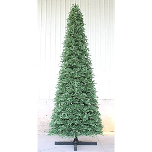 Slim Artificial Tree Pre Lit Amazon Com