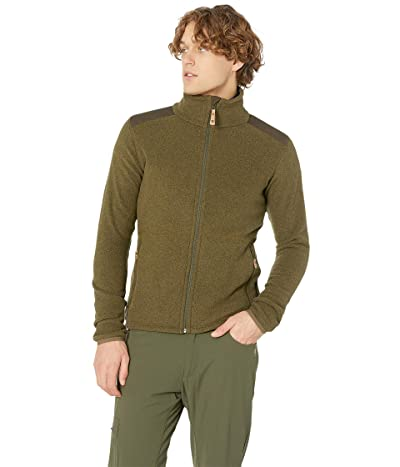 Fjallraven Sten Fleece (Dark Olive) Men