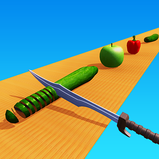 Perfect Knife Chop Vegetables Slicing