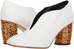 White/Graphic Heel