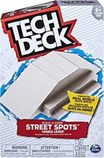 TECH DECK, Build-A-Park Street Spots, Venice Ledge, Ramps Boards and Bikes