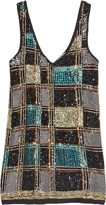 Zara 6206/004 Vestido con Lentejuelas, edición Limitada, para ...