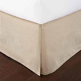 Levtex home Dust Ruffle, Queen, Linen