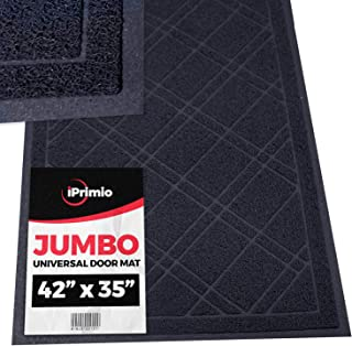 SlipToGrip - Universal Jumbo Door Mat with DuraLoop - XL Indoor/Outdoor 42