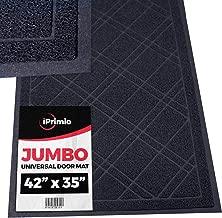 SlipToGrip - Universal Jumbo Door Mat with DuraLoop - XL Indoor/Outdoor 42