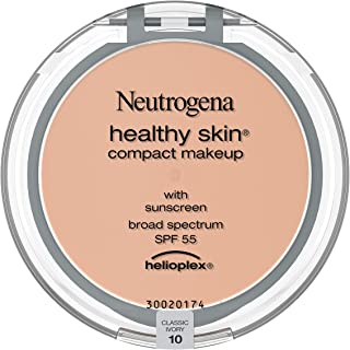 Neutrogena Healthy Skin Compact Lightweight Cream Foundation Makeup with Vitamin E Antioxidants, Non-Greasy Foundation wit...