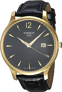 Tissot Men's Quartz Watch with Stainless-Steel Strap, Black, 20 (Model: T0636103605700)