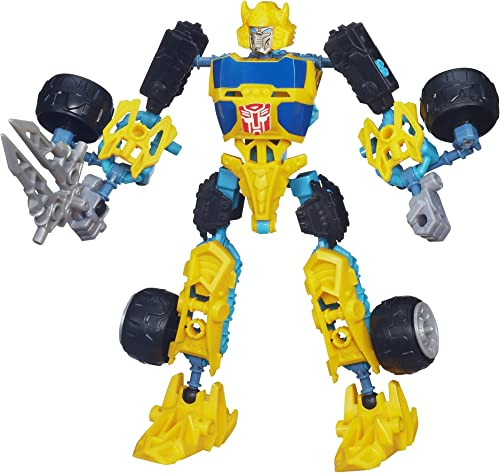 Bumblebee Transformers Construct-Bots Scout Figure