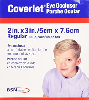 Coverlet Eye Occlusor Eye Patch Regular Size 20/box