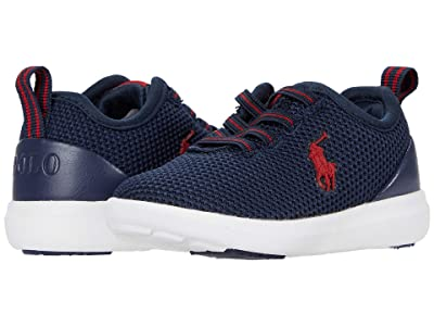 Polo Ralph Lauren Kids Kamran II (Toddler/Little Kid) (Navy Mesh/Red PP) Kid