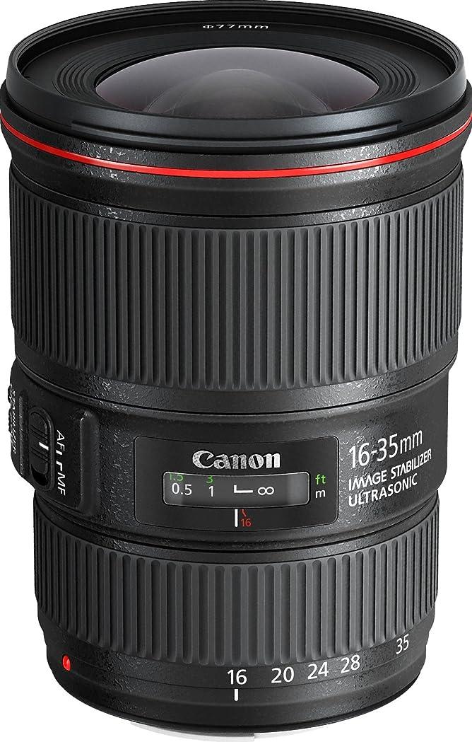 隠された取り扱い切るCanon 広角ズームレンズ EF16-35mm F4L IS USM フルサイズ対応 EF16-3540LIS