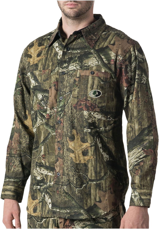 Mossy Oak Men's Cape Back Long Sleeve Shirt