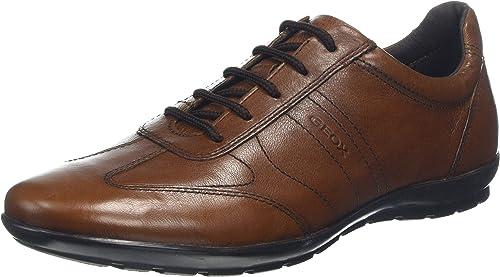 Geox uomo symbol b, scarpe stringate oxford U74A5B00043C6001