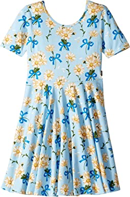 Buttercup Short Sleeve Mabel Dress (Toddler/Little Kids/Big Kids)