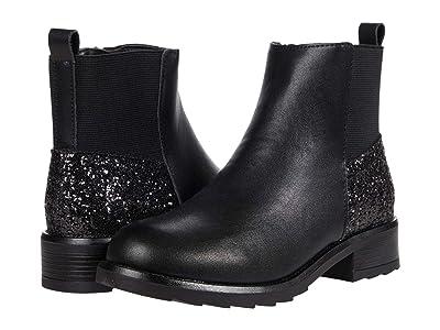 Steve Madden Kids Joeyy (Little Kid/Big Kid) (Black) Girls Shoes