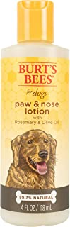 Burt's Bees for Dogs All-Natural Paw & Nose Lotion with Rosemary & Olive Oil | for All Dogs and Puppies, 4 Ounces