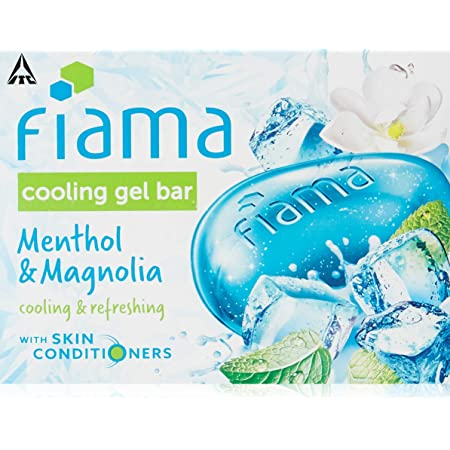 Fiama Cooling Gel Bathing Bar Menthol & Magnolia, 125 g