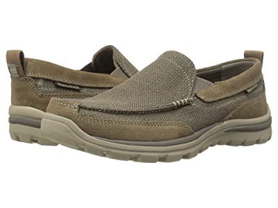 SKECHERS Relaxed Fit Superior Milford (Light Brown) Men