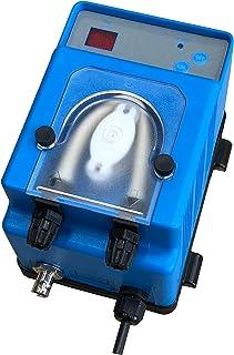 Bomba dosificadora peristáltica con dosificación proporcional a la medida del pH modelo MP2SP - 1,5 l/h 230 Vac, tubo membrana santoprene para dosis ácido (pH-)