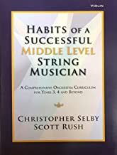 habits of a successful middle school string musician