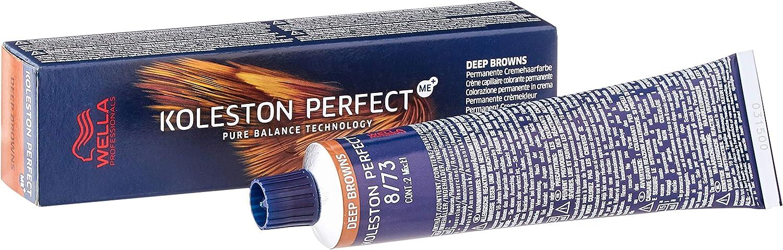 Wella koleston Perfect Color del pelo Deep Brown 8/73, 60 ml