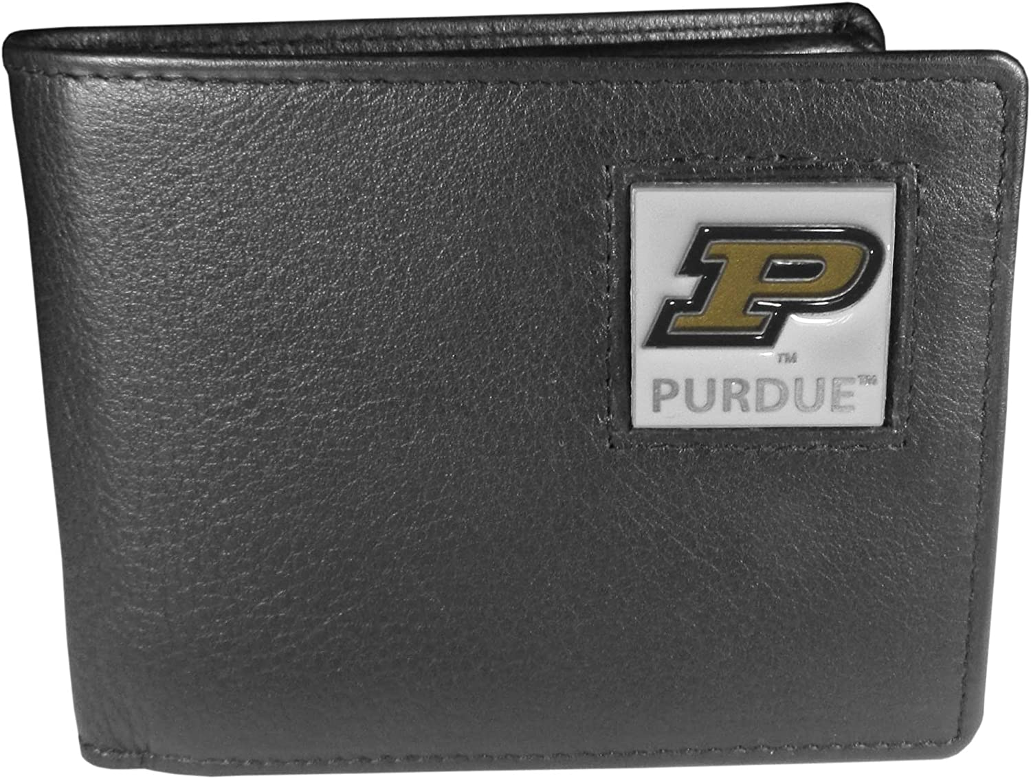 NCAA Purdue Boilermakers Leather Bifold Wallet