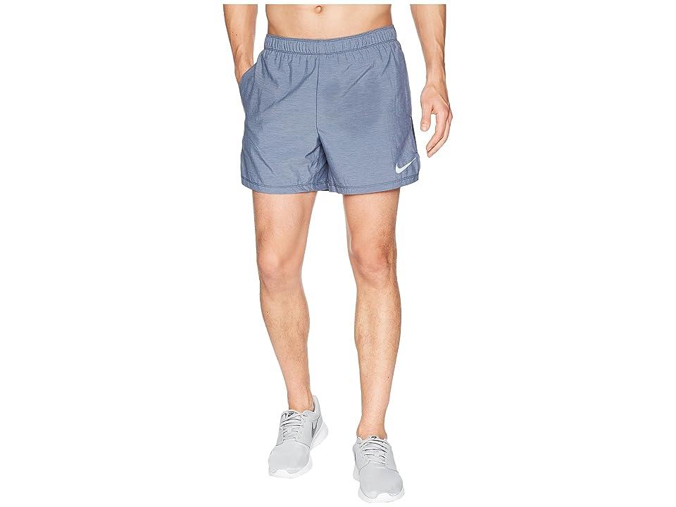 Nike Challenger 5 Running Short (Obsidian/Obsidian/Obsidian) Men