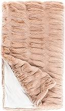 Donna Salyers Faux Fur Throw Blanket - Rose Mink (60X86)