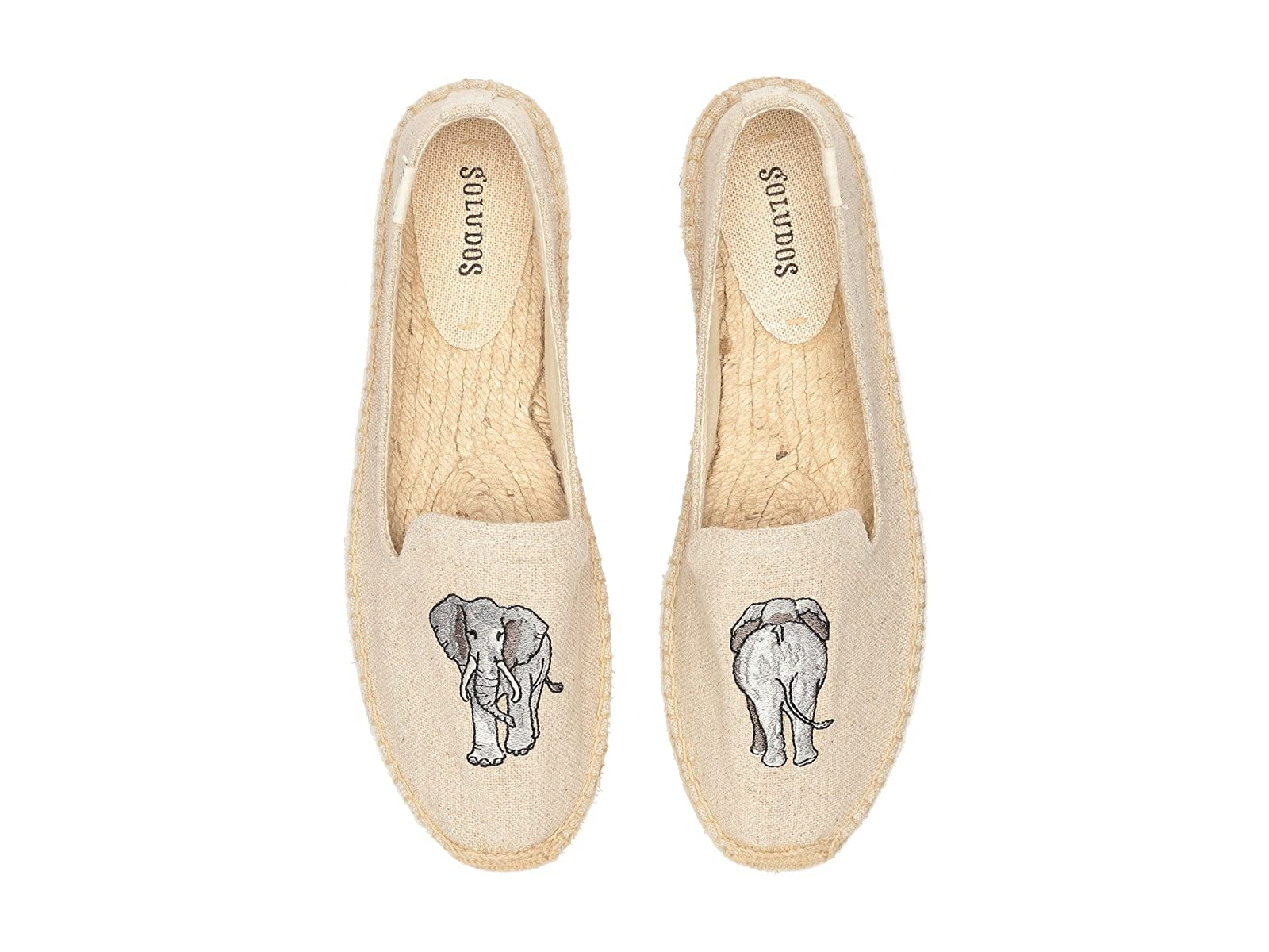 Soludos Elephant Embroidered Smoking SlipperAtmospheric grades have affordable shoes