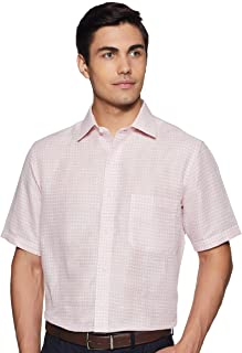 Arrow Men's Checkered Regular fit Formal Shirt