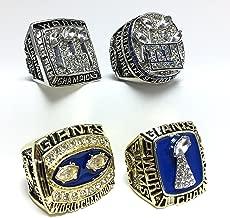 Custom Rings New York Giants Super Bowl 1986 1990 2007 2011 XXI XXV XLII XLVI Ring Set