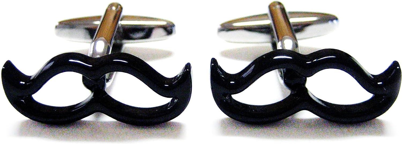 Mustache Outline Cufflinks