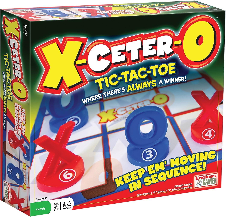 X-Ceter-O Tic Tac Toe Game