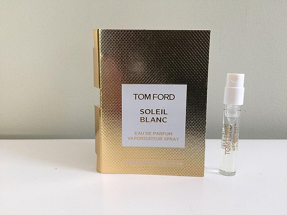 確認する上に当社【サンプルサイズ】Tom Ford SOLEIL BLANC Eau De Parfum Spray 1.5ml