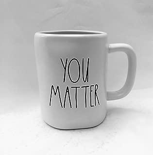 Rae Dunn by Magenta YOU MATTER Coffee,Tea, Soup Mug Cup