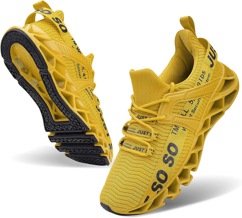 JSLEAP Women Running Shoes Non Slip Walking Tennis Type Fashion