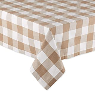 DII Classic Tabletop, Cotton, Stone, Tablecloth, 60x104